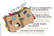 Algumas dicas para quem vai viajar(imagem da Internet)