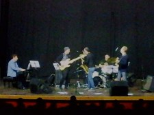 Duelo no Quinteto Pró Jazz. Foto: Felipe Reis