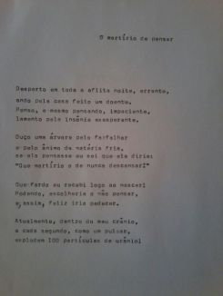 poema de Pedro Uchoas