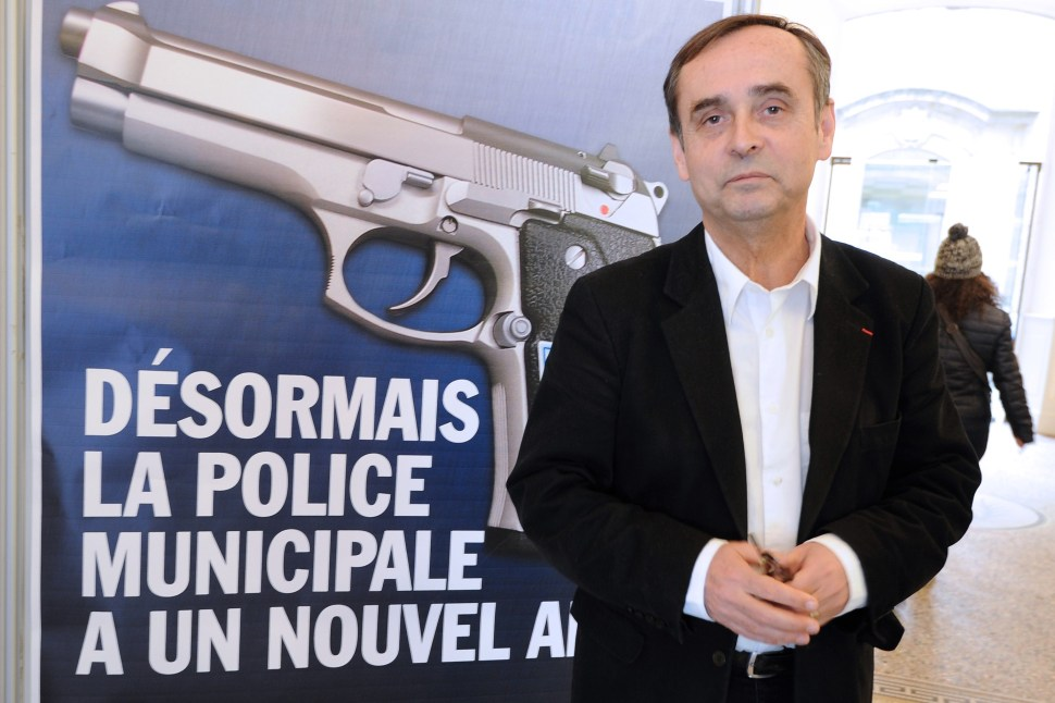 FRANCE-BEZIERS-MUNICIPALITY-POLICE-ARMS-PARTIES-FN
