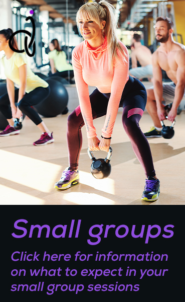 Small groups. Click here for information on what to expect in your small group sessions