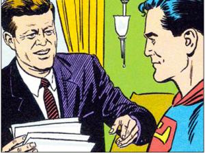 Superman and JFK