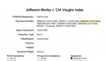 Morley v. CIA