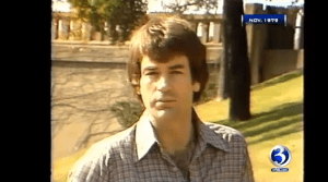 O'Reilly on the grassy knoll
