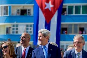 Kerry In Cuba