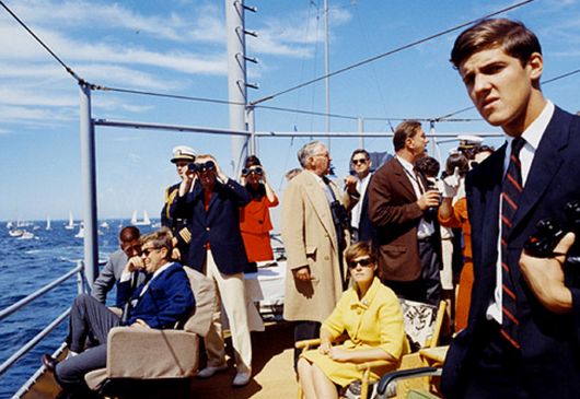 Kerry and JFK in 1962
