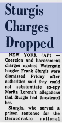 Sturgis charges dropped