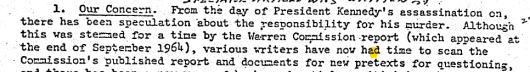 CIA memo on 'conspiracy theorists.'