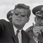 JFK w/generals