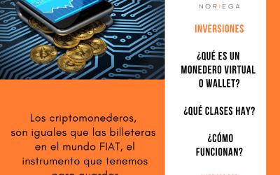 ¿Qué es un monedero virtual o wallet? ¿Qué clases hay? y ¿Cómo funcionan?