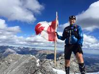 Philippe on the summit