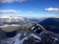 Gazing across the Bow Valley
