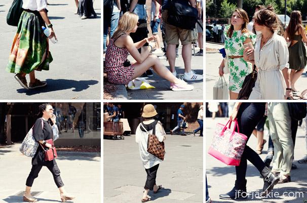 20 June 2013 - pittiuomo 84 streetwear women patterns