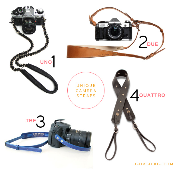 26 June 2013 - unique camera straps