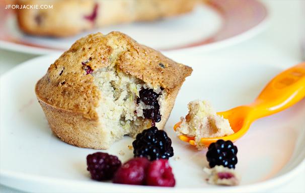 07 August 2013 - Zucchini Mixed berry muffins
