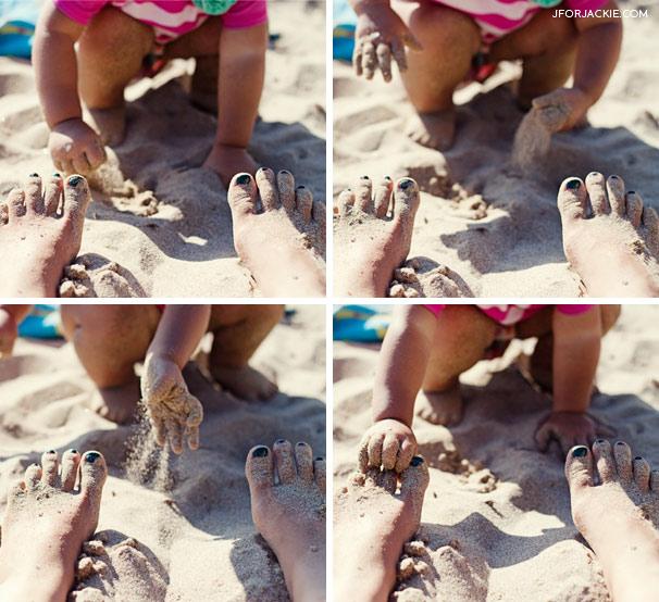 Julienne loves Sand