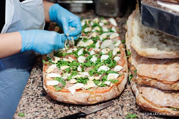 Bar Focacceria Milese - best sandwich in Alghero, Sardegna