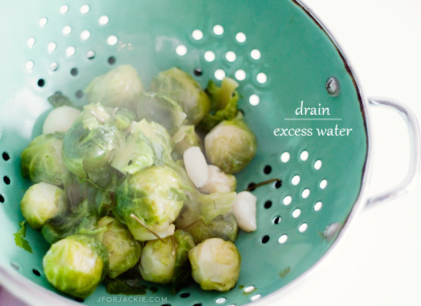 Buttery Garlic Brussel Sprouts with Rosemary