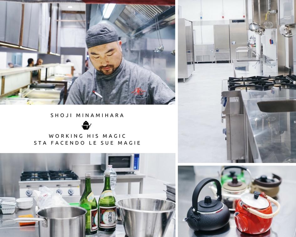 Koto Lab Ramen in Italy - Chef