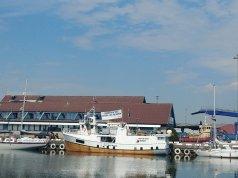 3 Freedom Flotilla vessels in a Swedish port