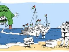 Latuff cartoon: Free Gaza