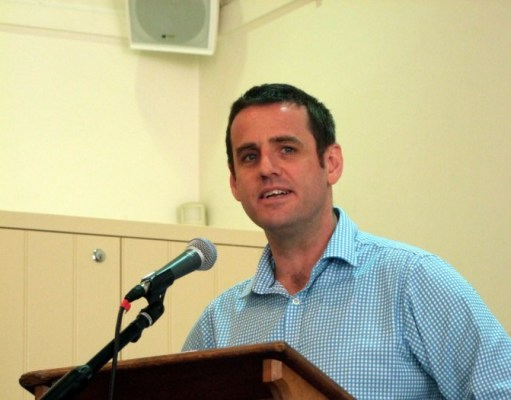 Sam Huggard of NZ CTU