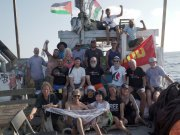 Crew & Participants on Al Awda, photo by Jason Soo