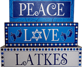 Peace, Love, Latkes