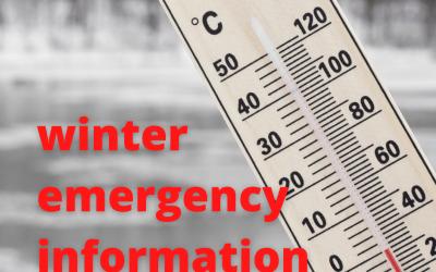 Winter Emergency Notice