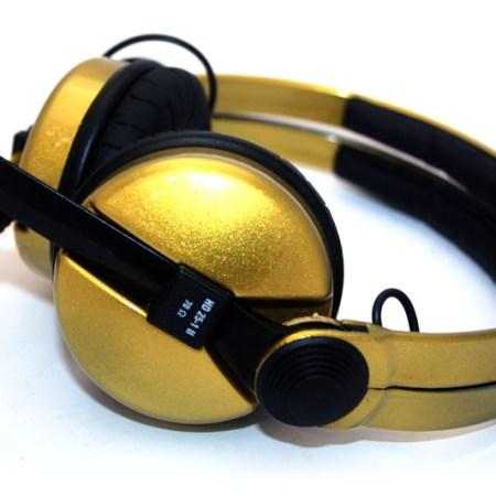 Gold Sennheiser HD 25