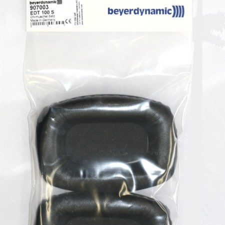 Beyerdynamic Synthetic Leather Ear Pads for DT 100 DT100 DT102 DT108 DT109 – EDT 100S – 907003 (foam inserts included)