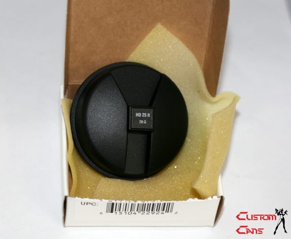 1 x Original Sennheiser HD25 Replacement Earcup and driver 70ohm L or R- 545757-1325