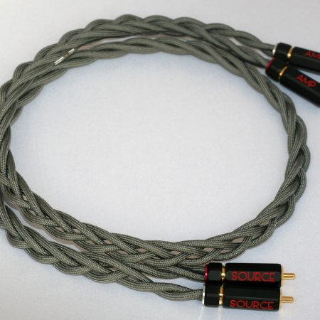 High end Turntable cable, Ultra low capacitance silk covered litz copper