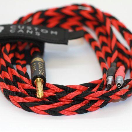 Ultra-low capacitance litz cable for Sennheiser HD800 headphones