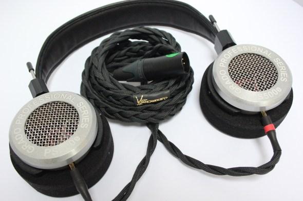 Litz cable for grado headphones