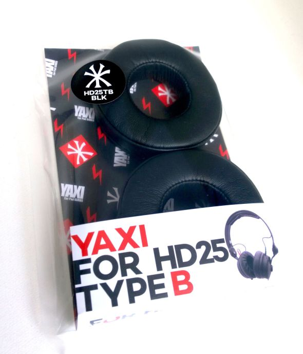 Black Type B Yaxi Pads for HD25