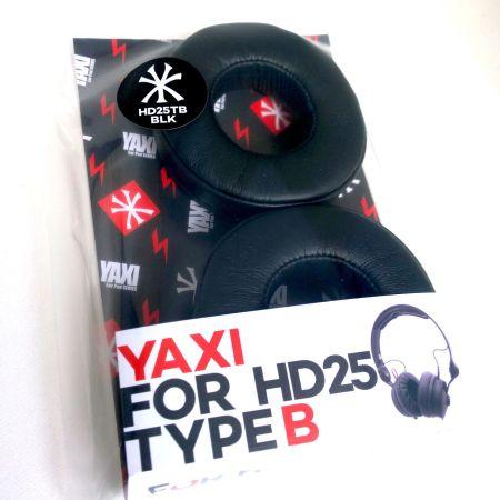 Black Yaxi Type B pads for Sennheiser HD25 mk II – Fits all HD25 Range