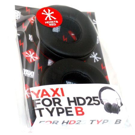 Red Yaxi Type B pads for sennheiser HD25 mk II – Fits all HD25 Range