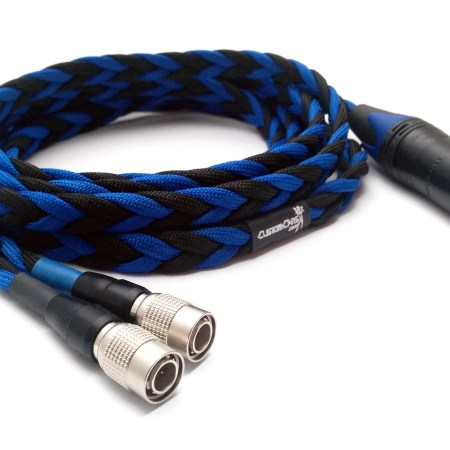 Ultra-low capacitance cable for MrSpeakers Mad Dog, Ether or Aeon Flow to balanced output