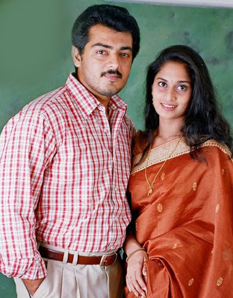 Photo Feature Ajith Amp Shalini And Their Beautiful Love
