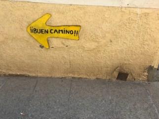 """El mantra del caminante… """"Buen Camino"""" y """"Ultreia""""."""