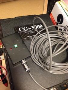 CG-3000用リセットスイッチボックス