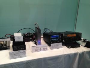 RRS-101を中心にエレクラフトのリグも参考出品