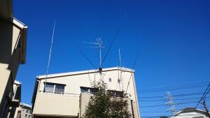 アンテナ修理完了!
