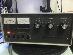 プレート電圧 2300V 若干低め