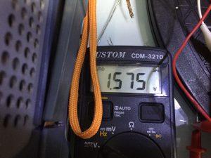 LPLの電圧が0.6V弱高い・・