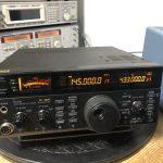 FT-1000MP ご出場 / IC-820D ご入場【2021/02/12】