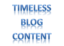 Timeless Blog Content