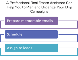 A Real Estate Assistant Can Help with a Drip Campaign