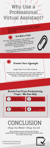 Why Use a Professional Virtual Assistant – Infographic